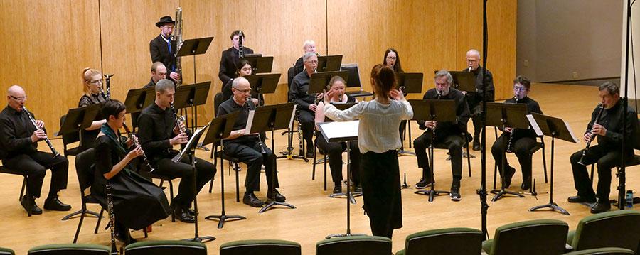Zephyr Clarinet Choir, PSU Lincoln Recital Hall